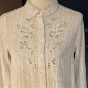 NWT Button Down Top from Free People - Size XS